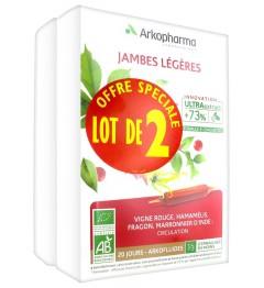 Arkofluide Jambes Légères Bio 2x20 Ampoules pas cher