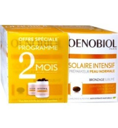 Oenobiol Solaires Intensif Peaux Normales 2x30 Capsules pas cher