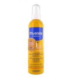 Mustela Solaires Spray Gachette SPF50 300Ml pas cher