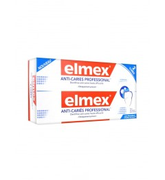 Elmex Dentifrice Anti Carie Professional 2x75Ml