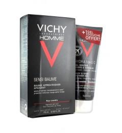 Vichy Hommes Sensibaume 50Ml et Gel Douche 100Ml Offert pas cher
