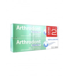 Arthrodont Dentifrice Gel Fluoré Protect 2x75Ml