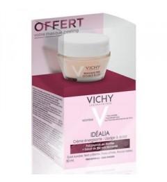 Vichy Coffret Idealia Peaux Sèches 50ml et Masque Peeling 15Ml Offert pas cher