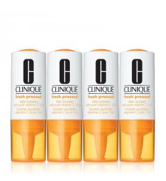 Clinique Fresh Pressed Booster Quotidien Vitamine C pure 10% 1 mois 8,5mlx4