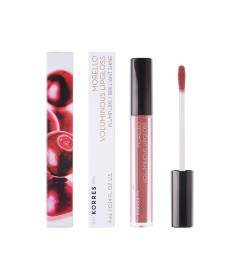 Korres Morello Volumateur Lip Gloss - 23 Natural Purple pas cher