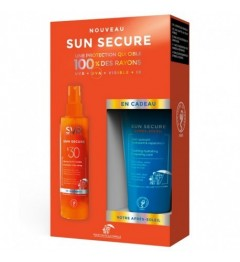 Svr Sun Secure Coffret Spray SPF30 200Ml et Après Soleil 50Ml Offert pas cher