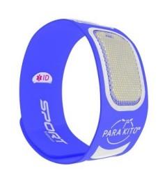 Parakito Bracelet Anti-Moustique Sport Bleu pas cher