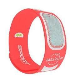 Parakito Bracelet Anti-Moustique Sport Orange pas cher