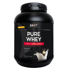 EA FIT Pure Whey Protein Vanille Intense 750 Grammes pas cher