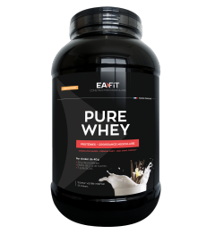 EA FIT Pure Whey Protein Vanille Intense 2.2Kg pas cher