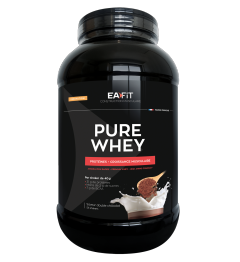 EA FIT Pure Whey Protein Double Chocolat 2.2Kg pas cher