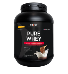 EA FIT Pure Whey Protein Double Chocolat 750 Grammes pas cher