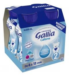 Gallia Calisma 2ème Age 4x200Ml pas cher
