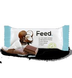 Feed Barre Noix de coco Chocolat 1 Repas Complet pas cher