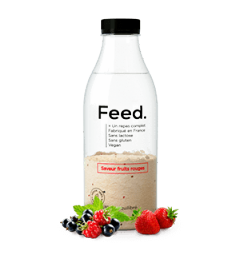 Feed Bouteille Fruits Rouges 1 Repas Complet pas cher