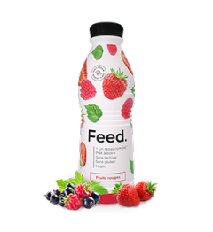 Feed Ready To Drink Fruits Rouges 1 Repas Complet pas cher