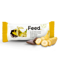 Feed Barre Banane Chocolat 1 Repas Complet pas cher