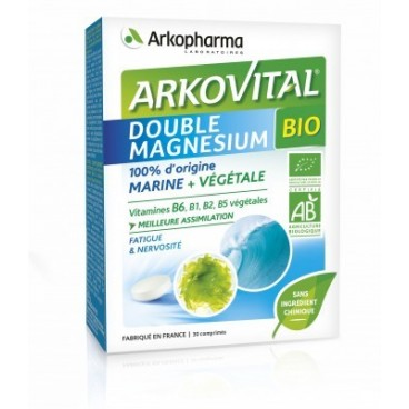 Arkovital Double Magnesium Bio 30 Comprimés pas cher