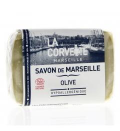 La Corvette Savon de Marseille Olive 100 Grammes pas cher
