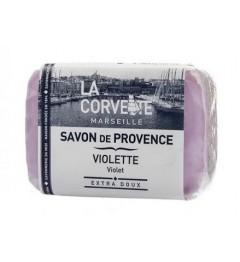 La Corvette Savon de Provence Violette 100 Grammes pas cher