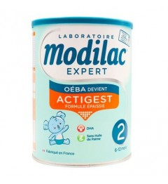 MODILAC Expert Actigest Lait 2ème Age 800 G pas cher