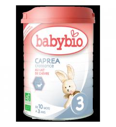 Babybio Caprea Lait de Chèvre 3 dès 10 Mois 900 Grammes pas cher