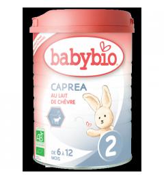 Babybio Caprea Lait de Chèvre 2 dès 6 Mois 900 Grammes pas cher