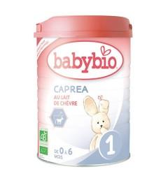 Babybio Caprea Lait de Chèvre 1er Age 0-6 Mois 900 Grammes pas cher
