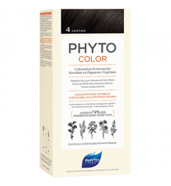 Phyto Coloration Permanente 4 pas cher