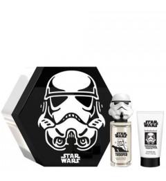 Stormtrooper Boite Métal Eau de Toilette 50Ml et Gel Douche 75Ml pas cher