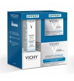 Vichy Liftactiv Peaux Normales à Mixtes 50ml, Minéral 89 10Ml et Liftactiv Nuit 15Ml pas cher