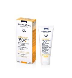 Isis Pharma Solaires Crème Minérale Teinté SPF50 40Ml