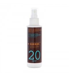 Korres Solaire Huile Corps SPF20 150Ml pas cher
