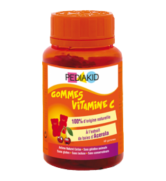 Pediakid Gommes Vitamine C 60 Gommes pas cher