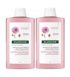 Klorane Shampoing à la Pivoine 2x400ml