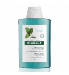 Klorane Capillaire Shampooing Détox à la Menthe Aquatique 200Ml pas cher