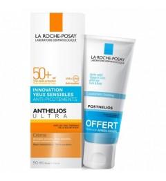 La Roche Posay Anthelios XL SPF 50 Crème Confort Ultra Avec Parfum 50ml et Posthelios 40Ml pas cher