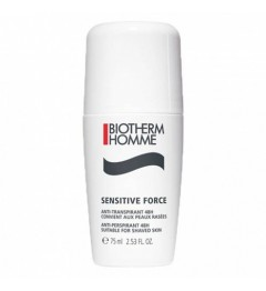 Biotherm Sensitive Force Roll On 75Ml pas cher