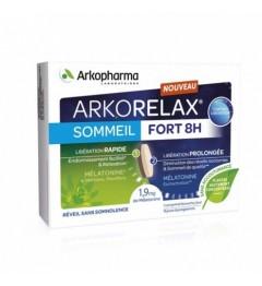 Arkorelax Sommeil Fort 8 Heures 15 Comprimés