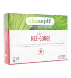 Olioseptil Nez Gorge 15 gélules pas cher