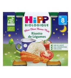 Hipp Risotto de Légumes 2x190 Grammes pas cher