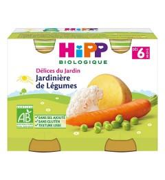 Hipp Jardinières de Légumes 2x190 Grammes pas cher