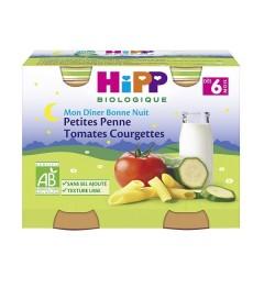 Hipp Petites Penne Tomates Courgettes 2x190 Grammes pas cher