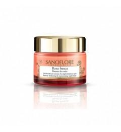 Sanoflore Rosa Fresca Baume de Rosée de Nuit 50Ml pas cher