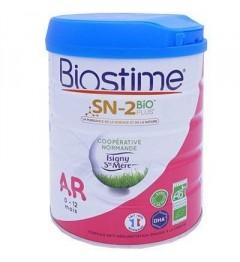 Biostime Lait Bio AR 0 à 12 Mois 800 Grammes