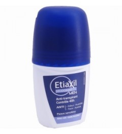 Etiaxil Déodorant Hommes Anti-Transpirant 72h Roll On 50ml