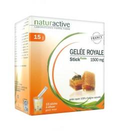 Naturactive Gelée Royale 15 Sticks de 10Ml pas cher