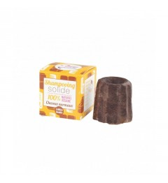 Lamazuna Shampoing Solide 55 Grammes Cheveux Normaux Chocolat