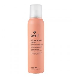 Avril Déodorant spray 150 ml Certifié bio