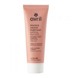 Avril Masque visage purifiant 50ml Certifié bio